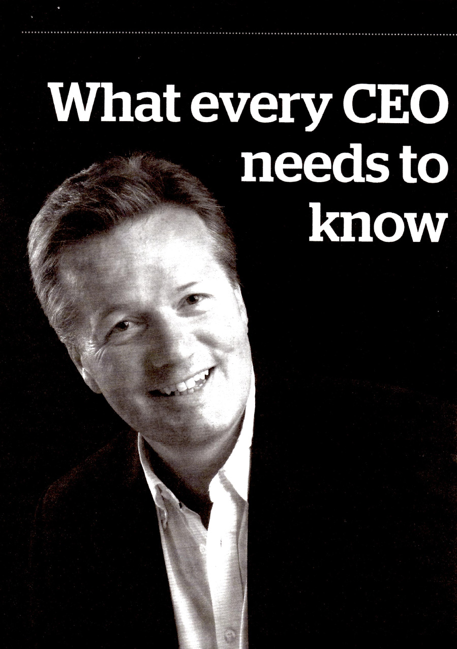 "Decision Magazine, Spring 2014, ""What every CEO needs to know about the Market"", page 1"